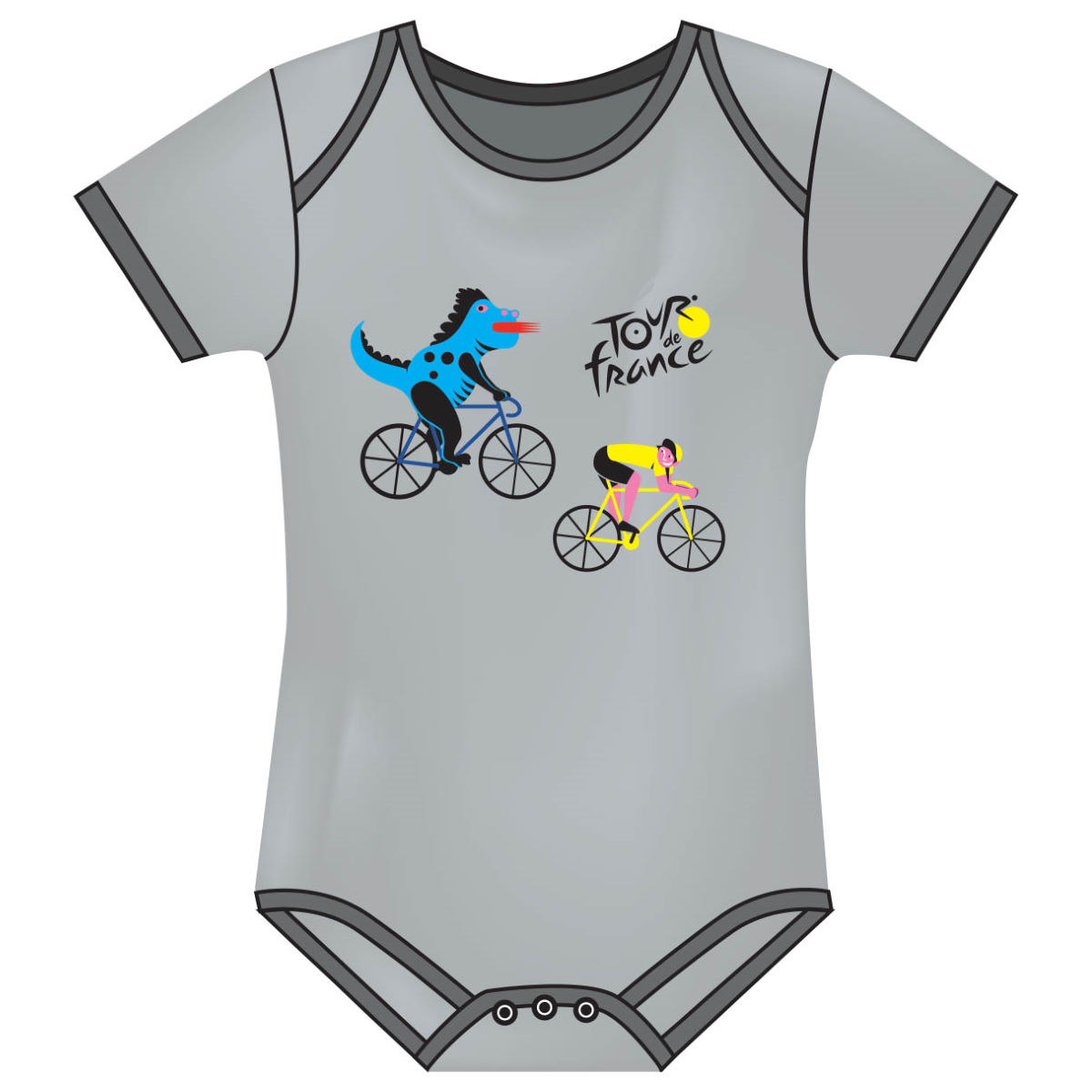 Tour de France Baby Grow (Dragon)   Gifts