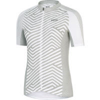 Gore Wear Womens C3 Short Sleeve Striped Jersey