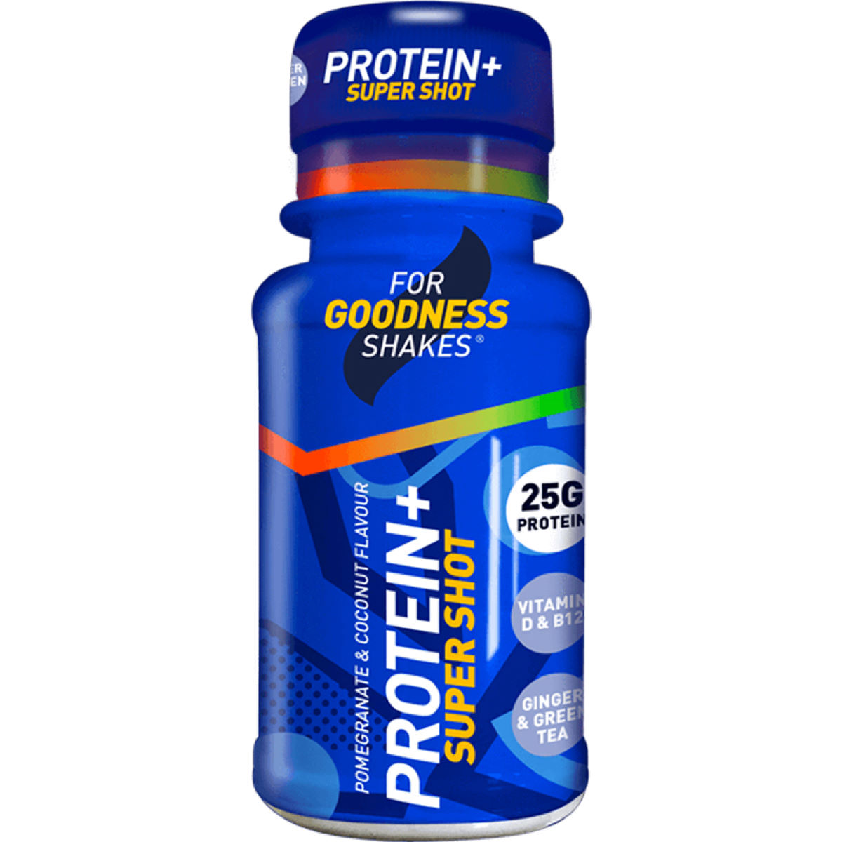 For Goodness Shakes For Goodness Shakes Protein+ Super Shot (12 X 60ml