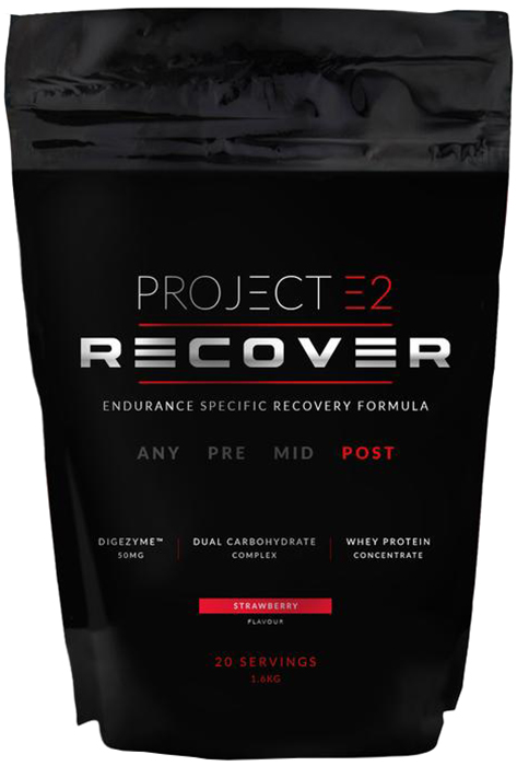 Project E2 Recovery Drink (1.6kg) | Protein bar and powder