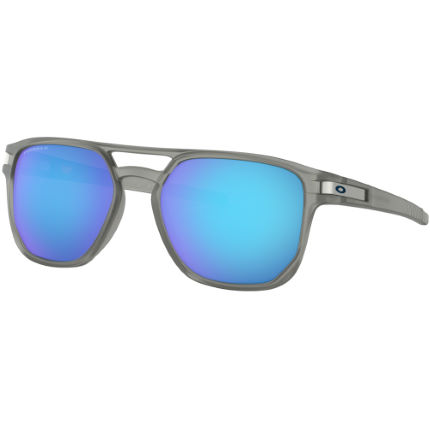 Oakley Latch Beta Matte Grey PRIZM Sapphire Sunglasses