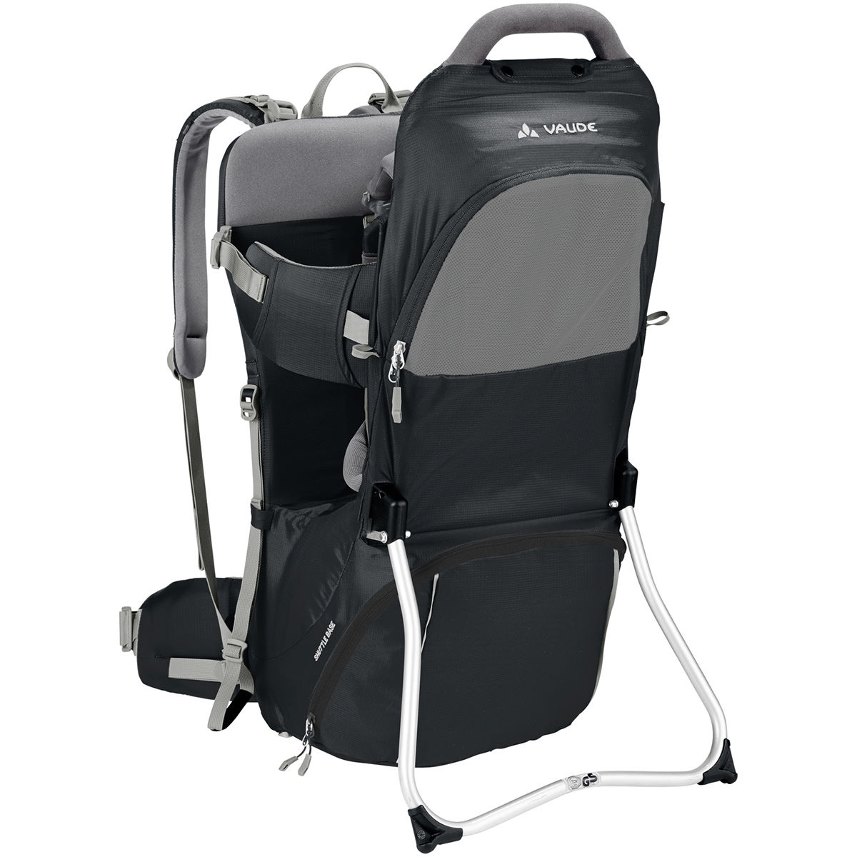 Vaude Shuttle Base Child Carrier – One Size Black | Child Carriers
