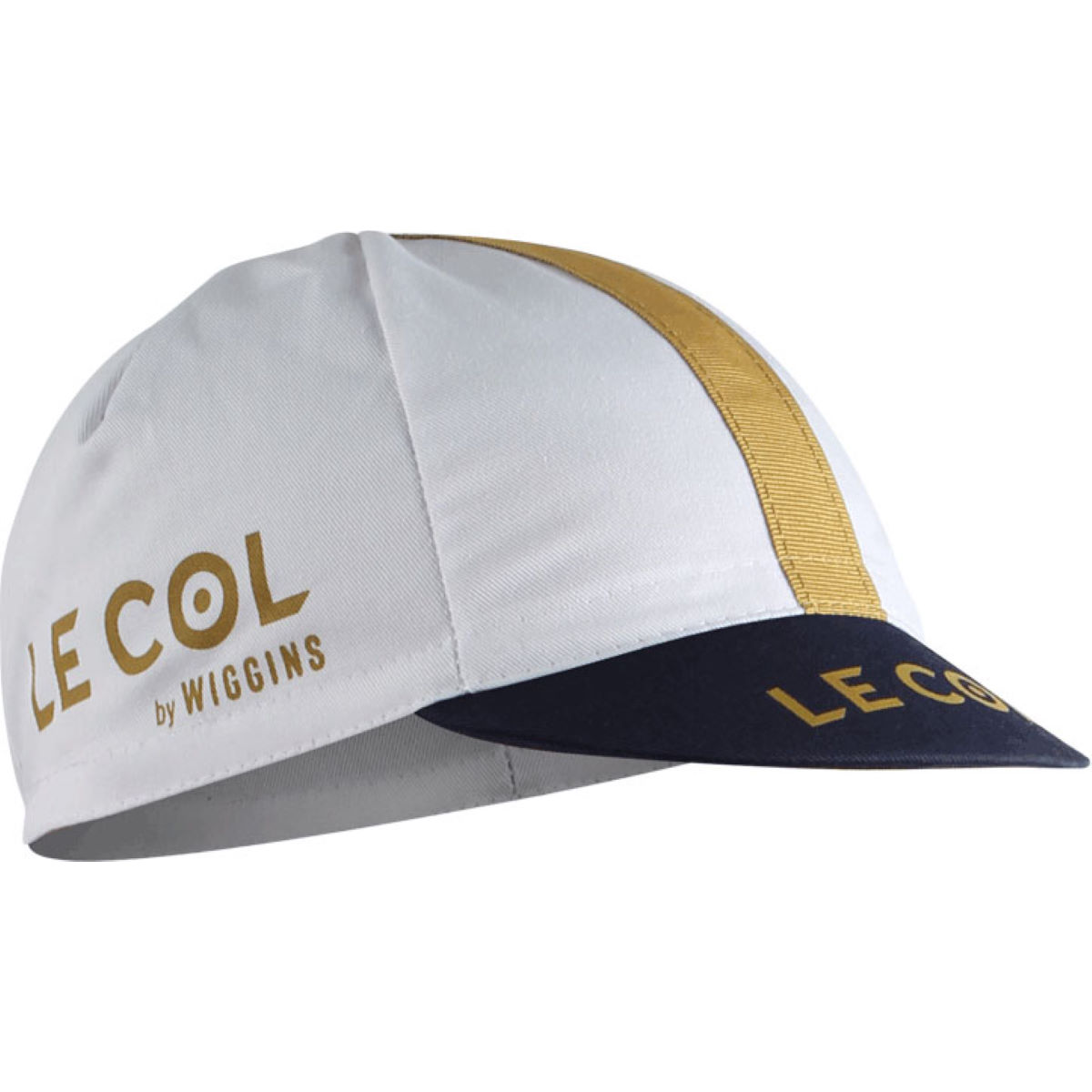 Le Col By Wiggins Pro Cycling Cap - One Size White  Caps