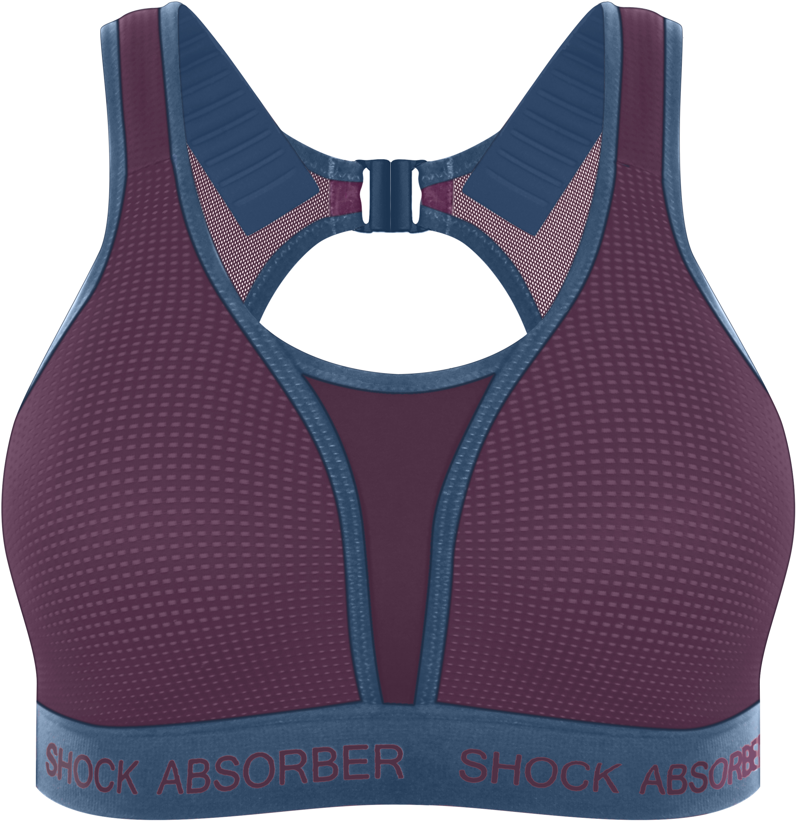 Shock Absorber Ultimate Run Bra - Padded (Cranberry Splash/Winter | Base layers
