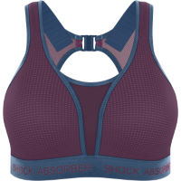 Shock Absorber Ultimate Run Bra - Padded (Cranberry Splash/Winter