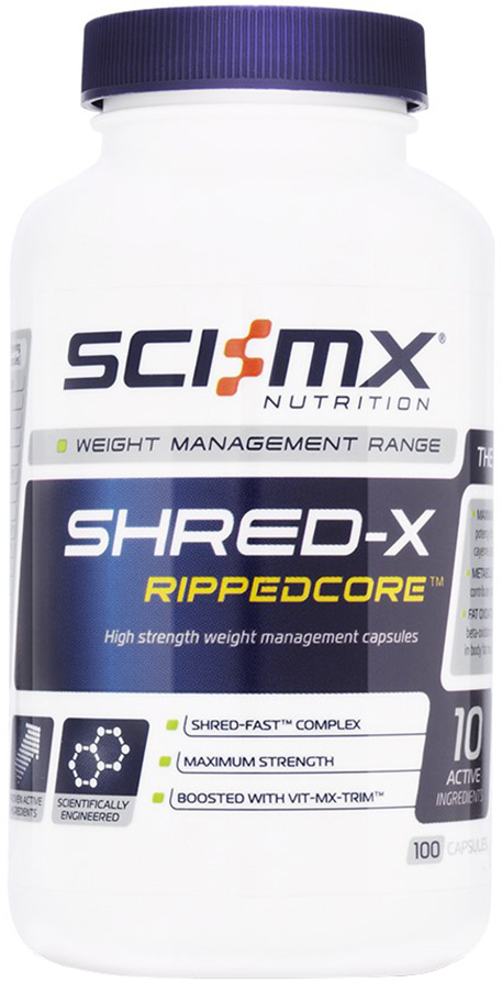 SCI-MX Shred-X Rippedcore (150 Caps) | Misc. Nutrition