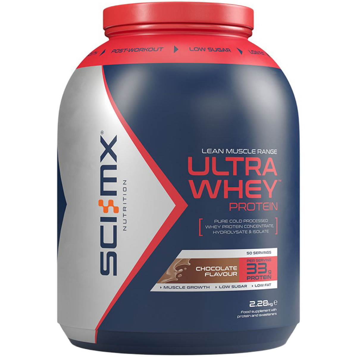 SCI-MX SCI-MX Ultra Whey Protein (2.28kg)   Powdered Drinks
