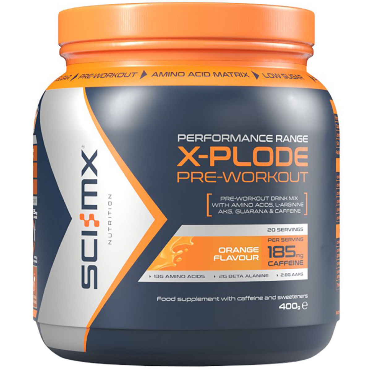 SCI-MX SCI-MX X-Plode Hardcore (400g)   Powdered Drinks
