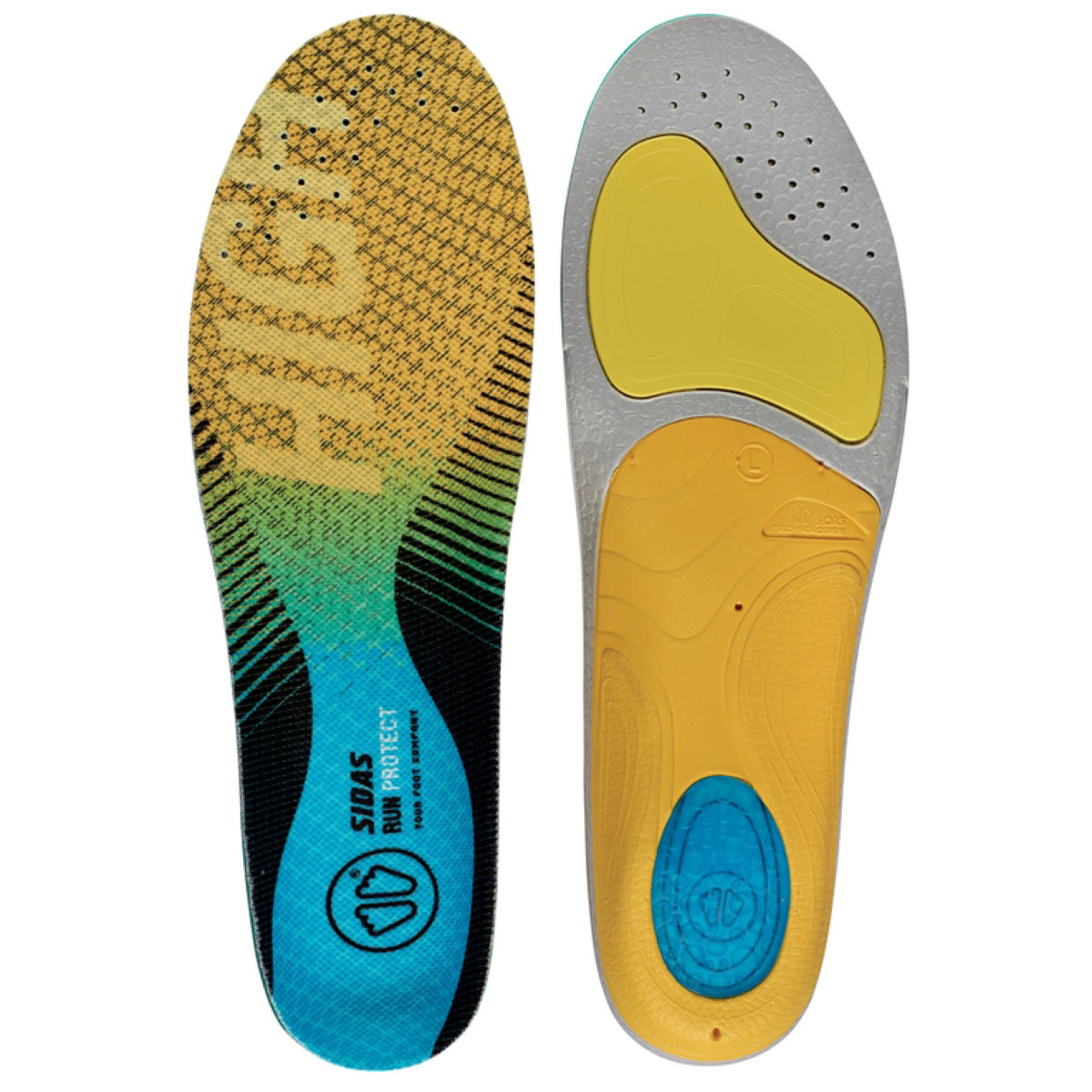 Sidas 3 Feet Hi Arch Run Protect Insole - Plantillas