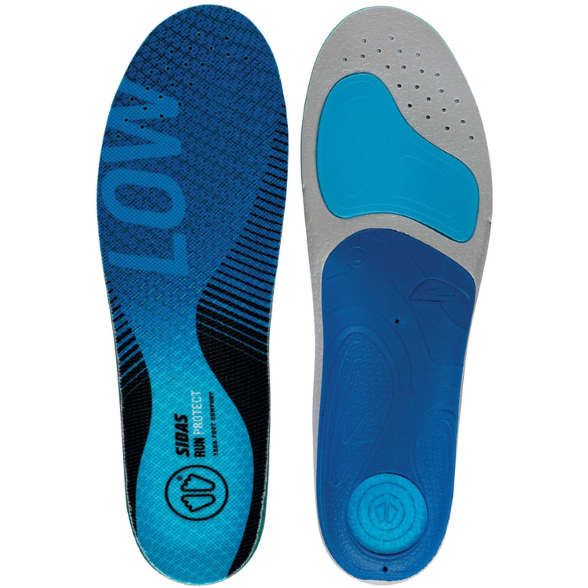 Sidas 3 Feet Low Arch Run protect insole - Plantillas