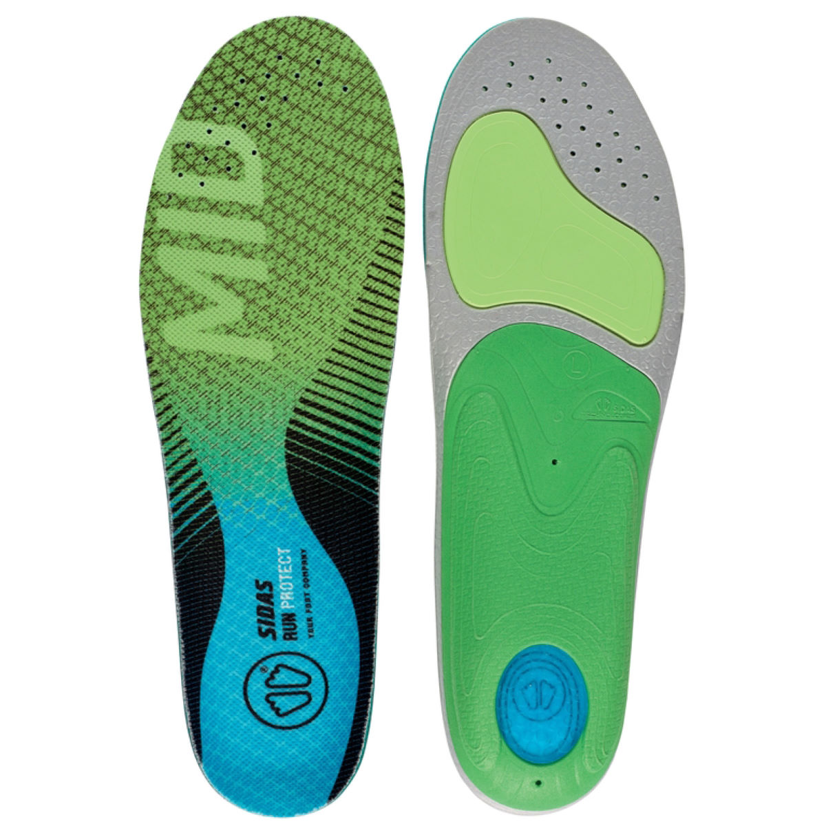 Sidas Sidas 3 Feet Mid Arch Run Protect Insole   Insoles