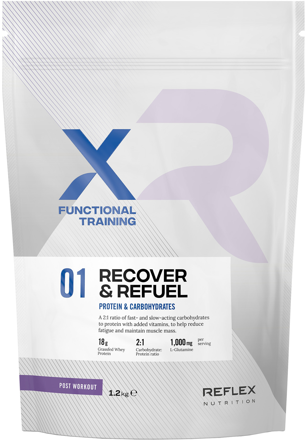 Reflex XFT Recover and Refuel (1.2kg) | Kompressionstøj
