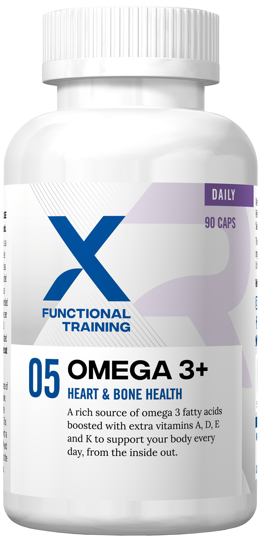 Reflex XFT Omega 3+ (90 Capsules) | Misc. Nutrition