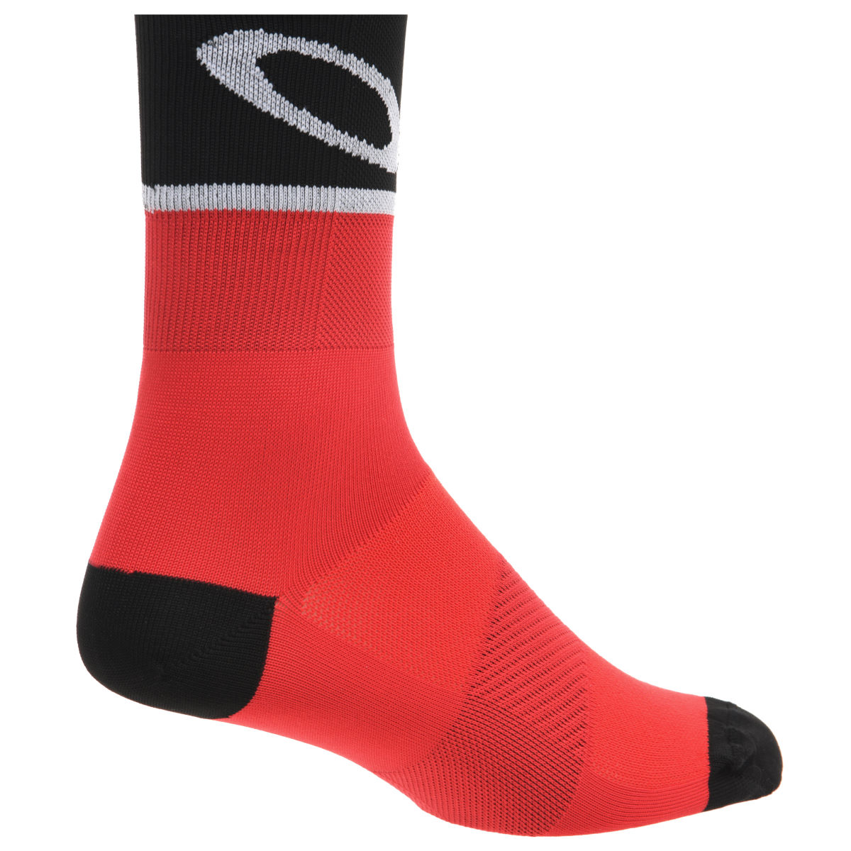 Oakley Cycling Socks Red Line - Calcetines