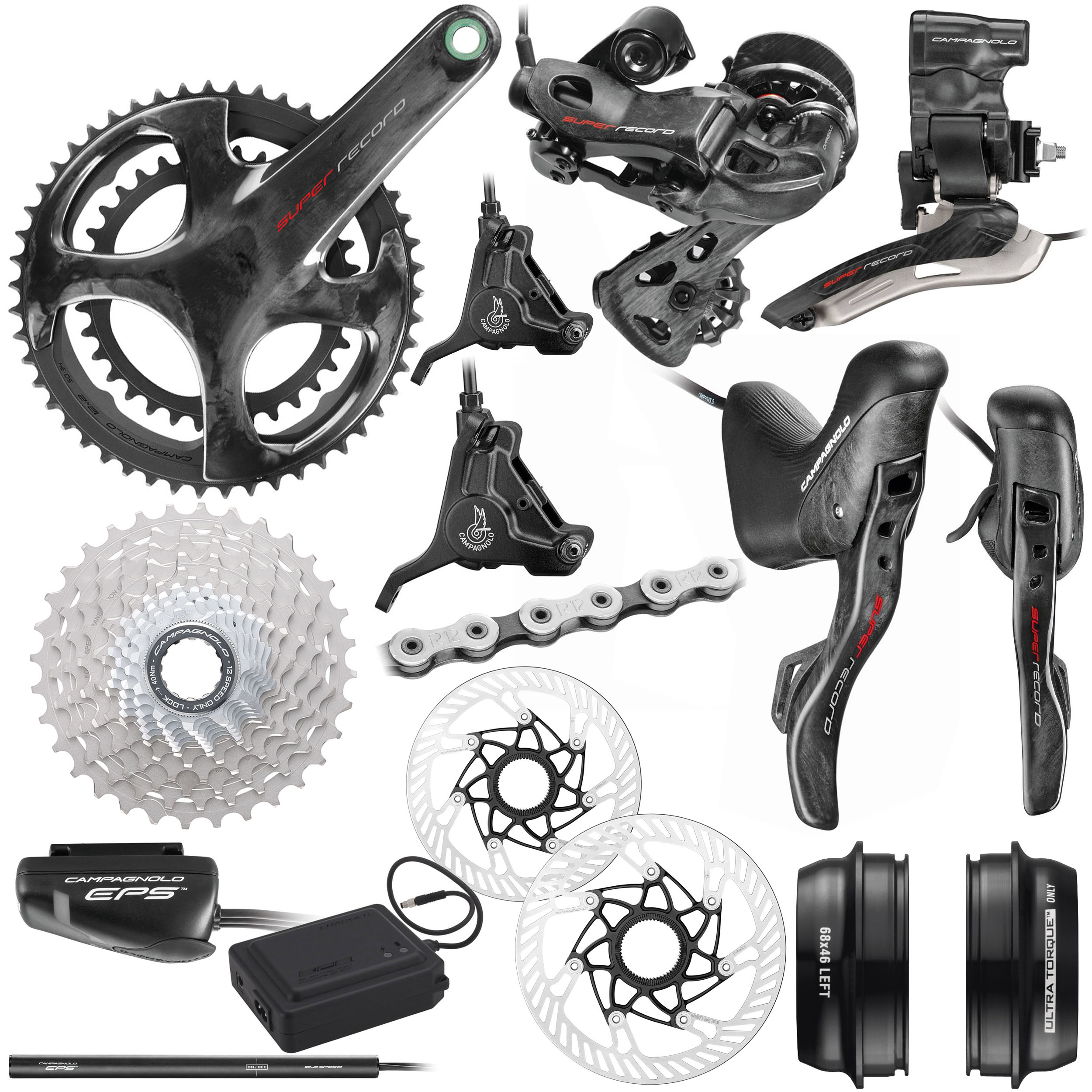 Campagnolo Super Record EPS 12x Disc Groupset | Groupsets