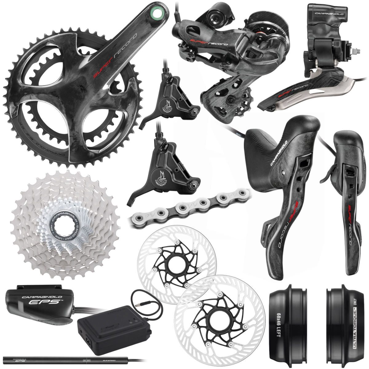 Campagnolo Campagnolo Super Record EPS 12x Disc Groupset   Groupsets