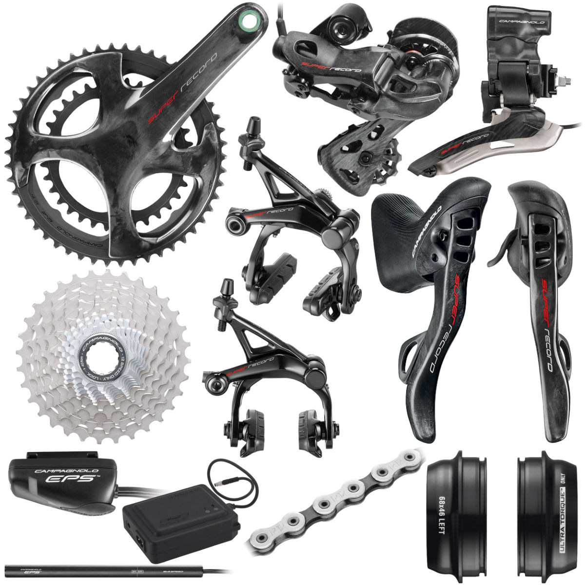 Campagnolo Campagnolo Super Record EPS 12x Groupset   Groupsets