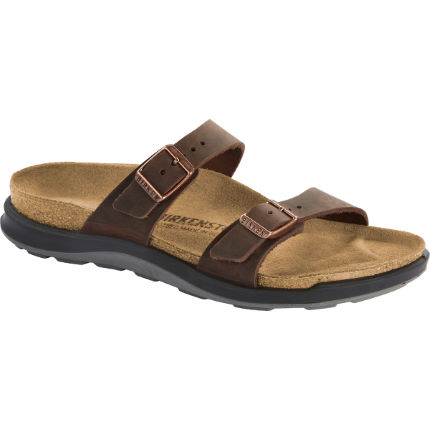 Birkenstock Women's Adventure Crosstown Sierra Leather Sandal