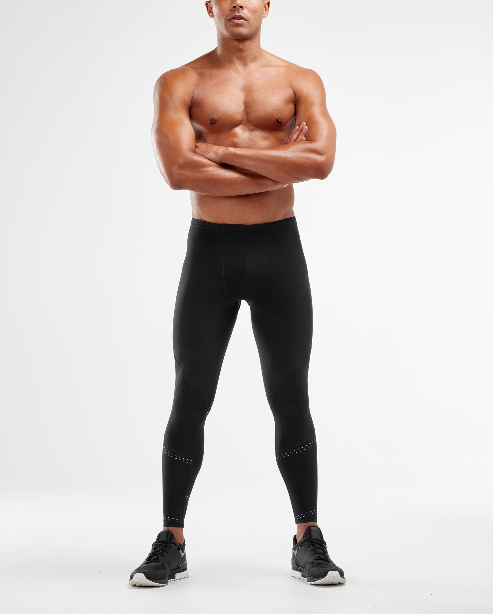 Black // Black 2XU Mens Thermal Compression Tights FREE DELIVERY AUS WIDE!
