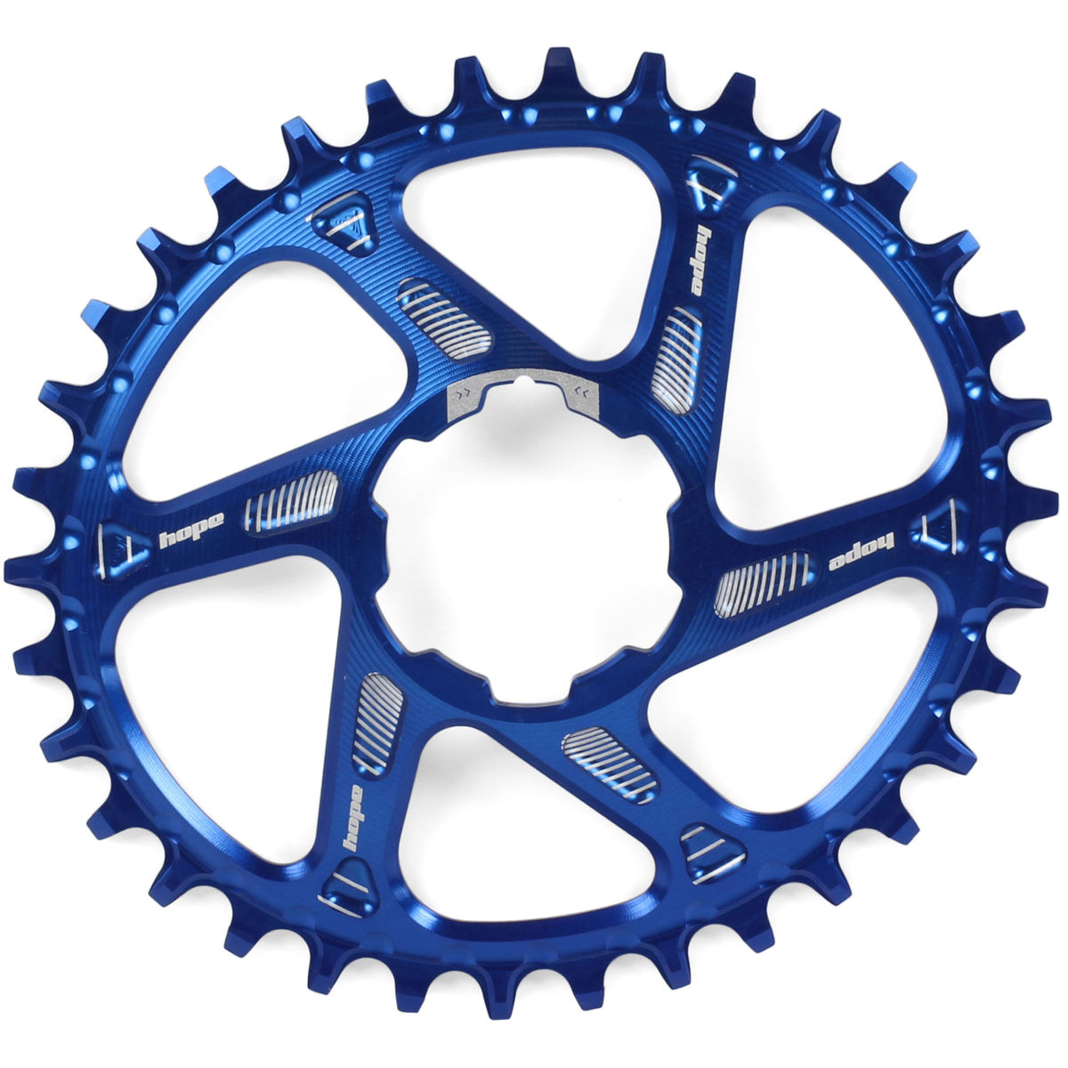 Hope Hope Oval Spiderless Boost Retainer Ring   Chain Rings
