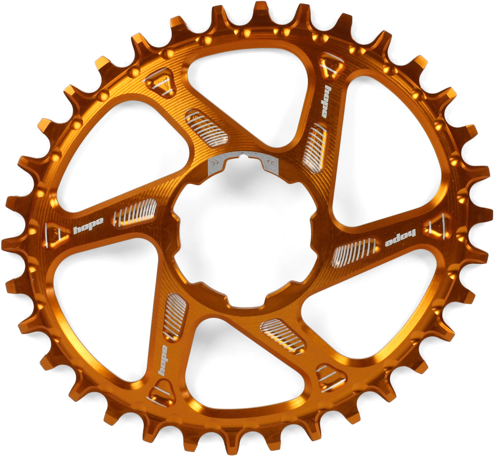 Hope Oval Spiderless Boost Retainer Ring | chainrings_component