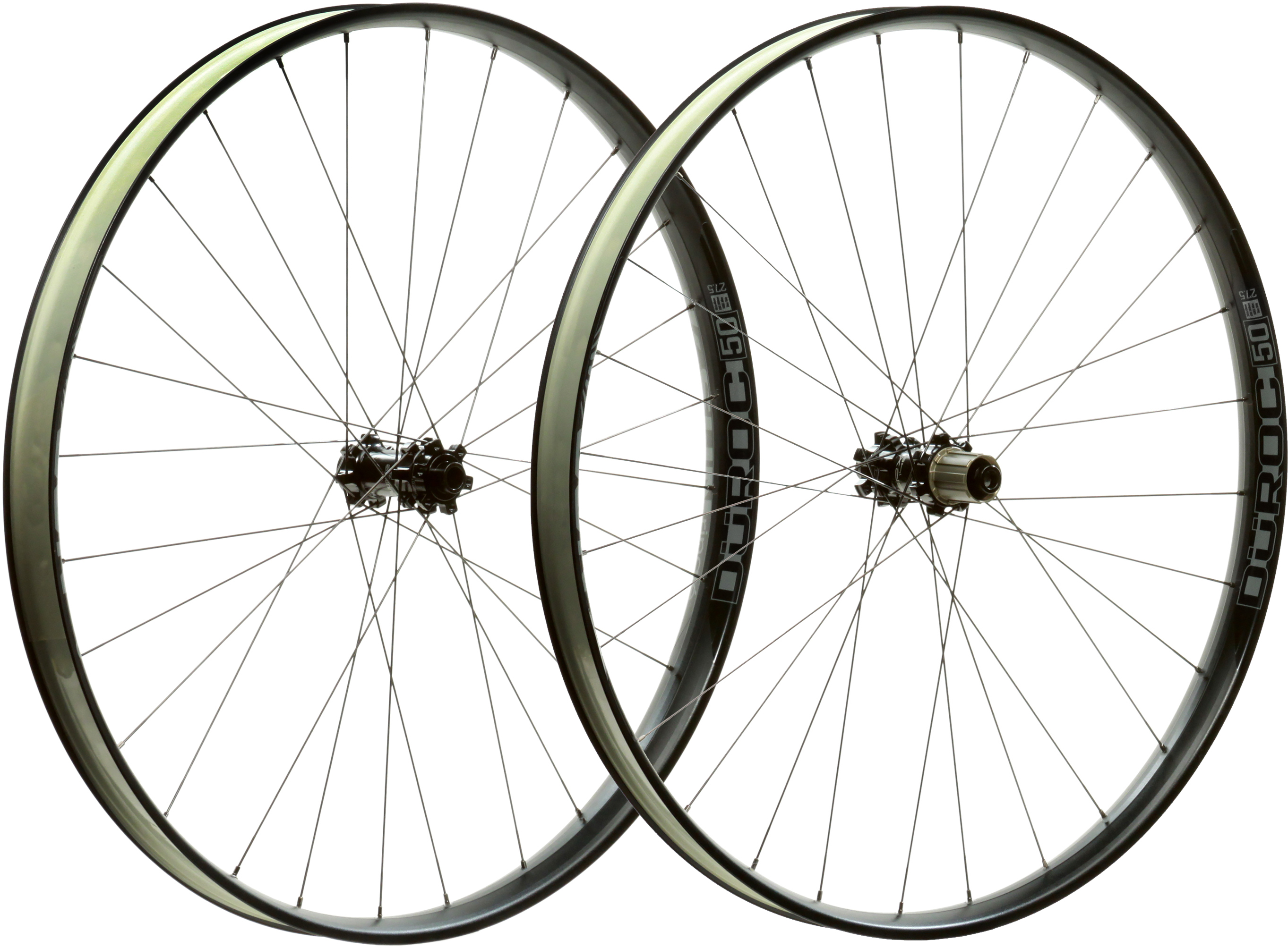 Sun Ringle Duroc 50 Wheelset:Black:12 x 148mm:27.5
