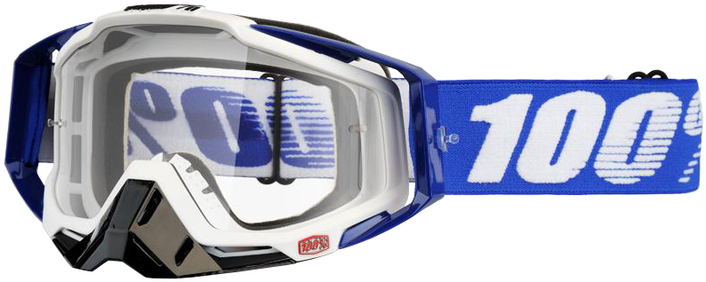 100% Racecraft Goggle - Clear Lens | Glasses