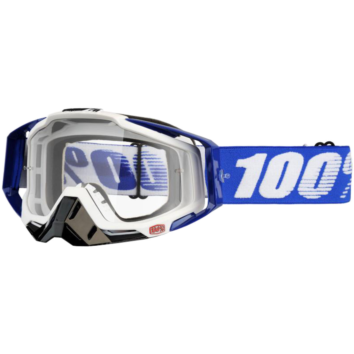 100% Racecraft Goggle - Clear Lens - One Size Cobalt Blue
