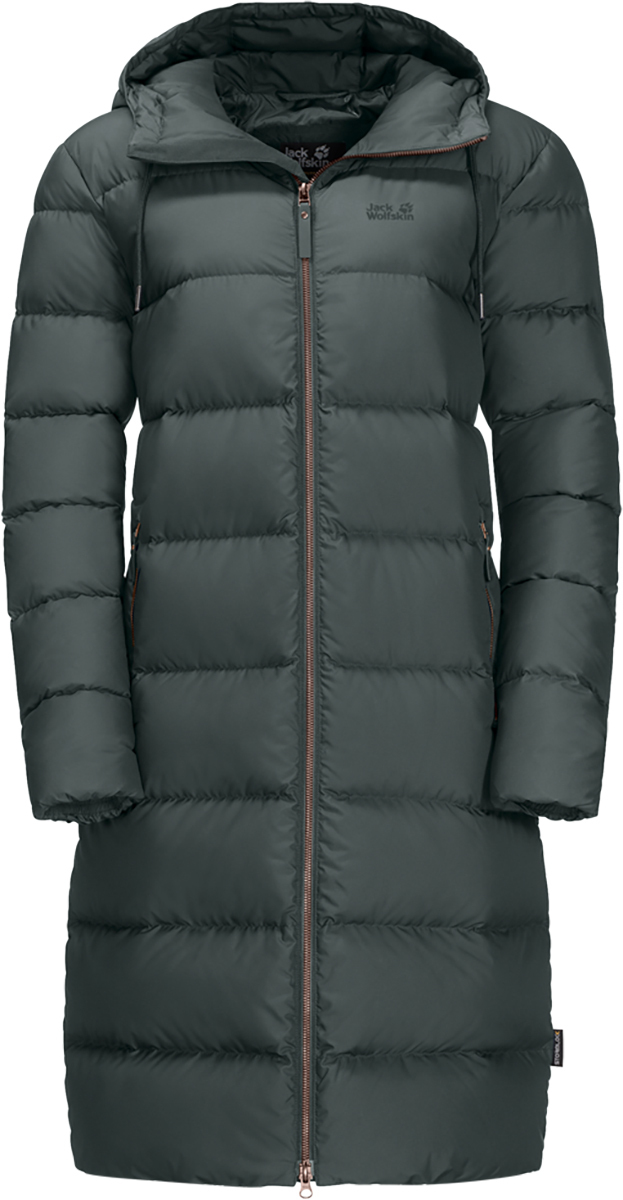 Jack Wolfskin Womens Crystal Palace Coat Water Resitant Windproof Jacket | eBay
