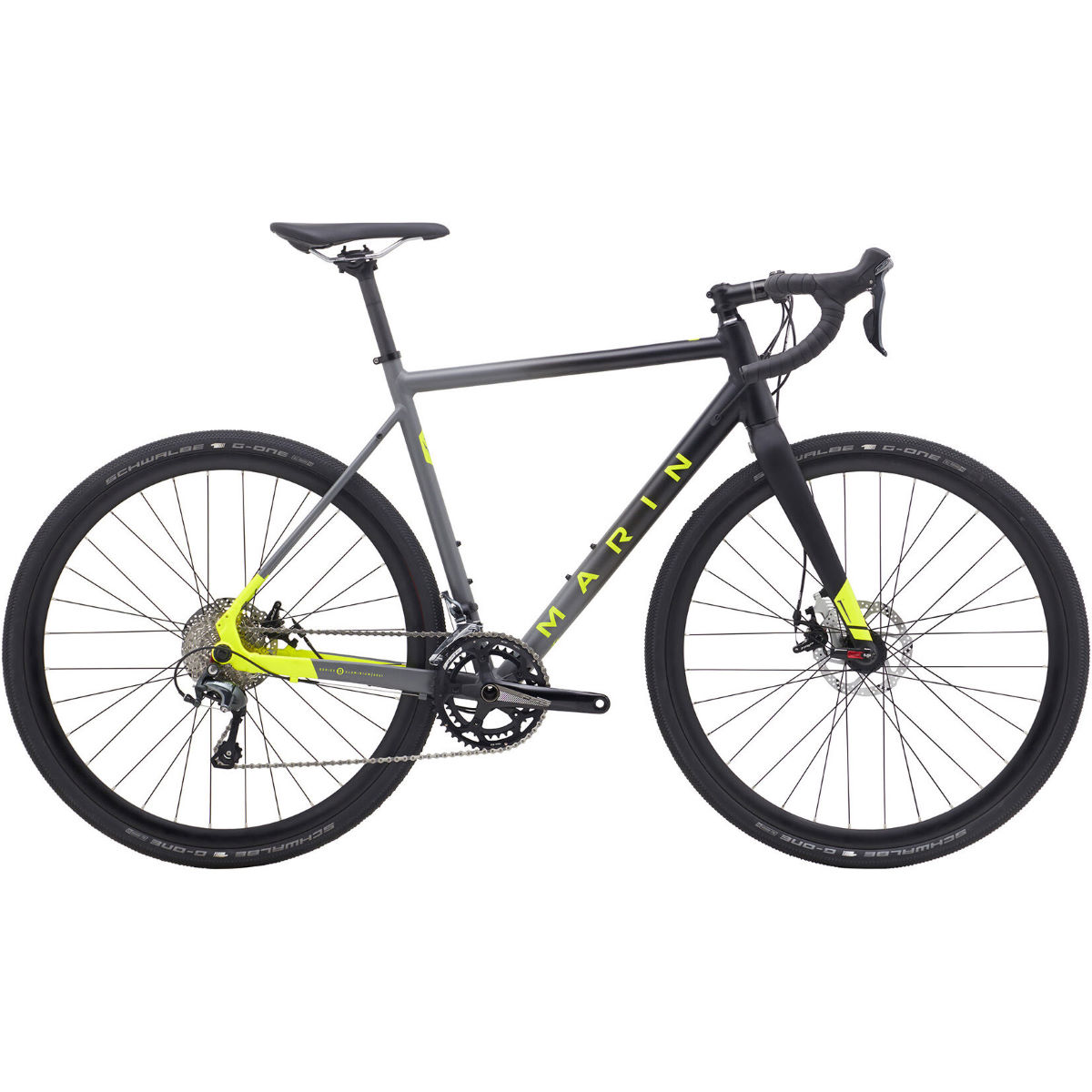 Image of Vélo de cyclo-cross Marin Cortina AX1 (2019) - 54cm Noir/Gris