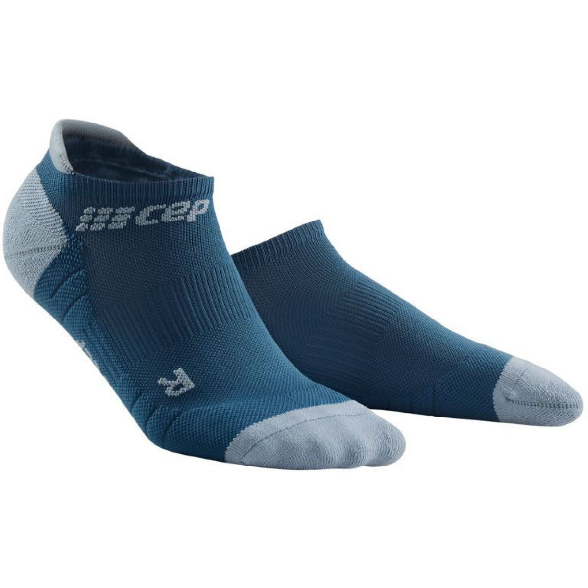 Cep Womens No Show Socks 3.0:orange/grey:xl - S Blue/grey  Socks