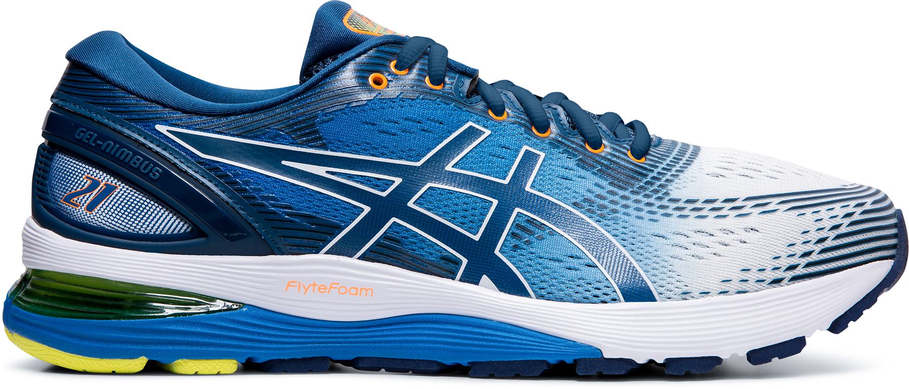 Asics Gel Nimbus 21 Running Shoes (Shine Pack)