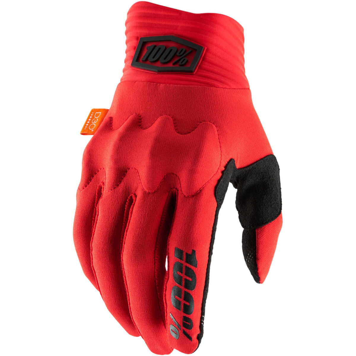 100% Cognito D30 Gloves - S Red/black  Gloves