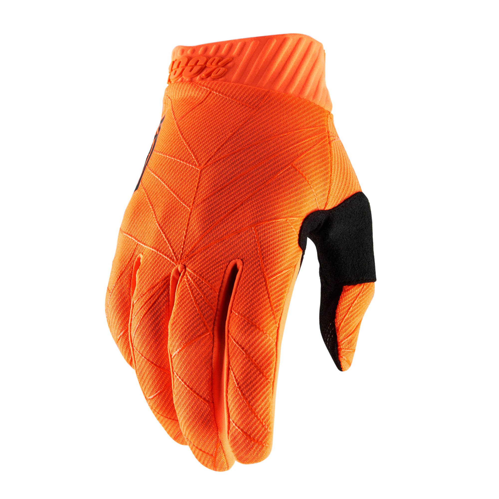 100% Ridefit Glove - Black/White | Gloves