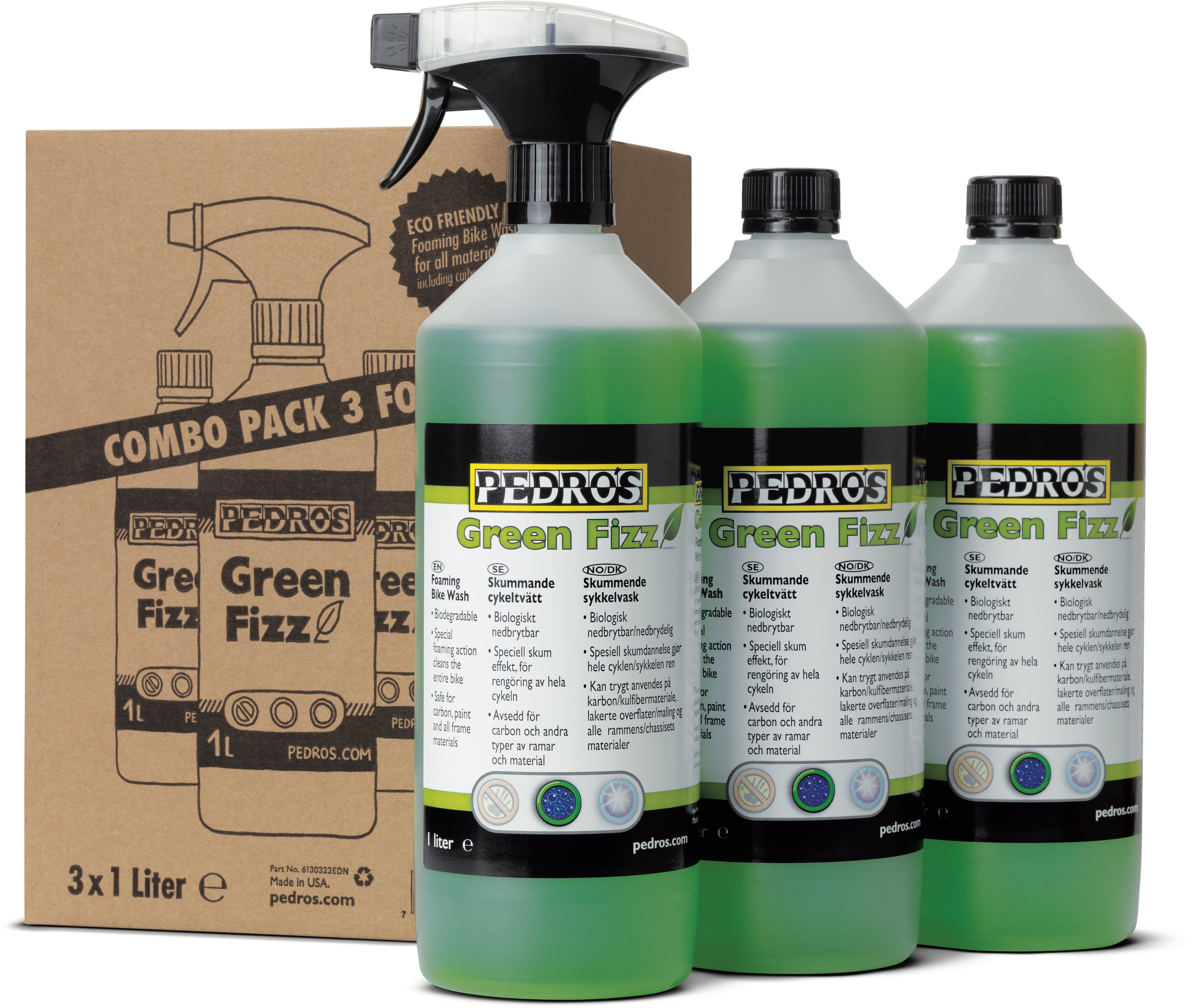Pedros Green Fizz Bundle | polish_and_lubricant_component