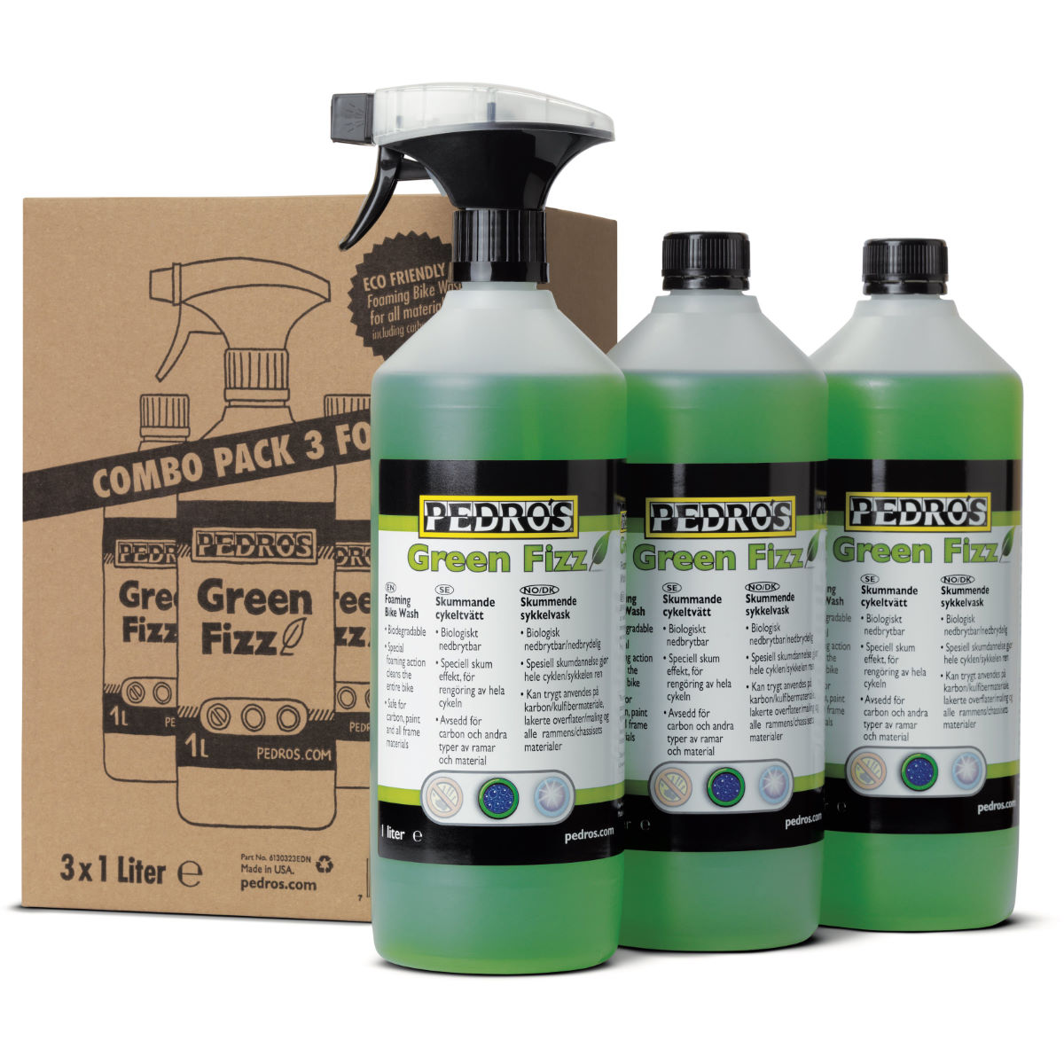 Pedros Pedros Green Fizz Bundle   Cleaning Products