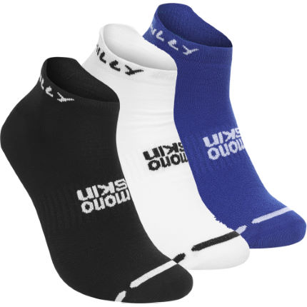 Hilly Super Saver Glide Triple Pack Socks