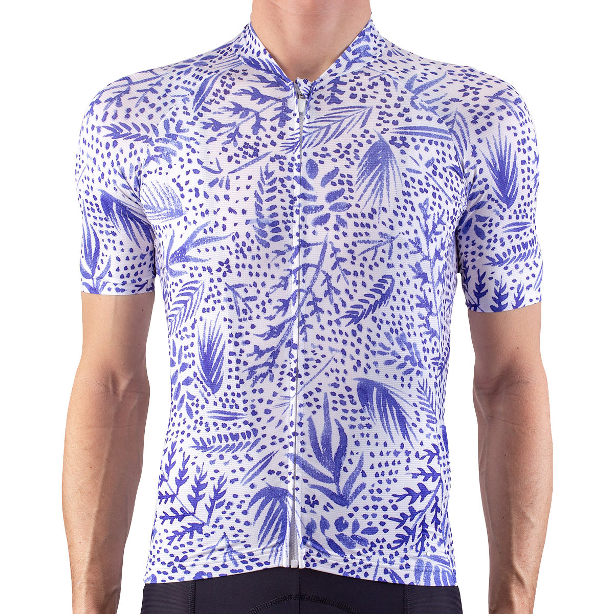 Isadore Alternative Cycling Jersey Blueprint - 2xl Blue/white
