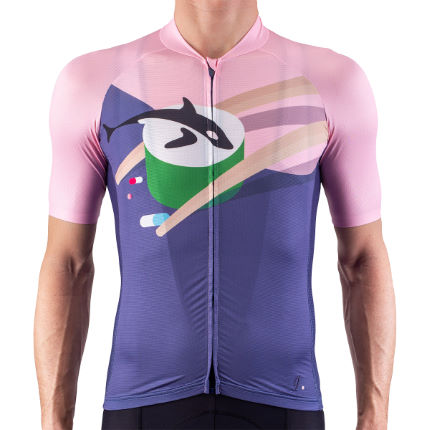 Isadore Alternative Cycling Jersey Soul Sushi