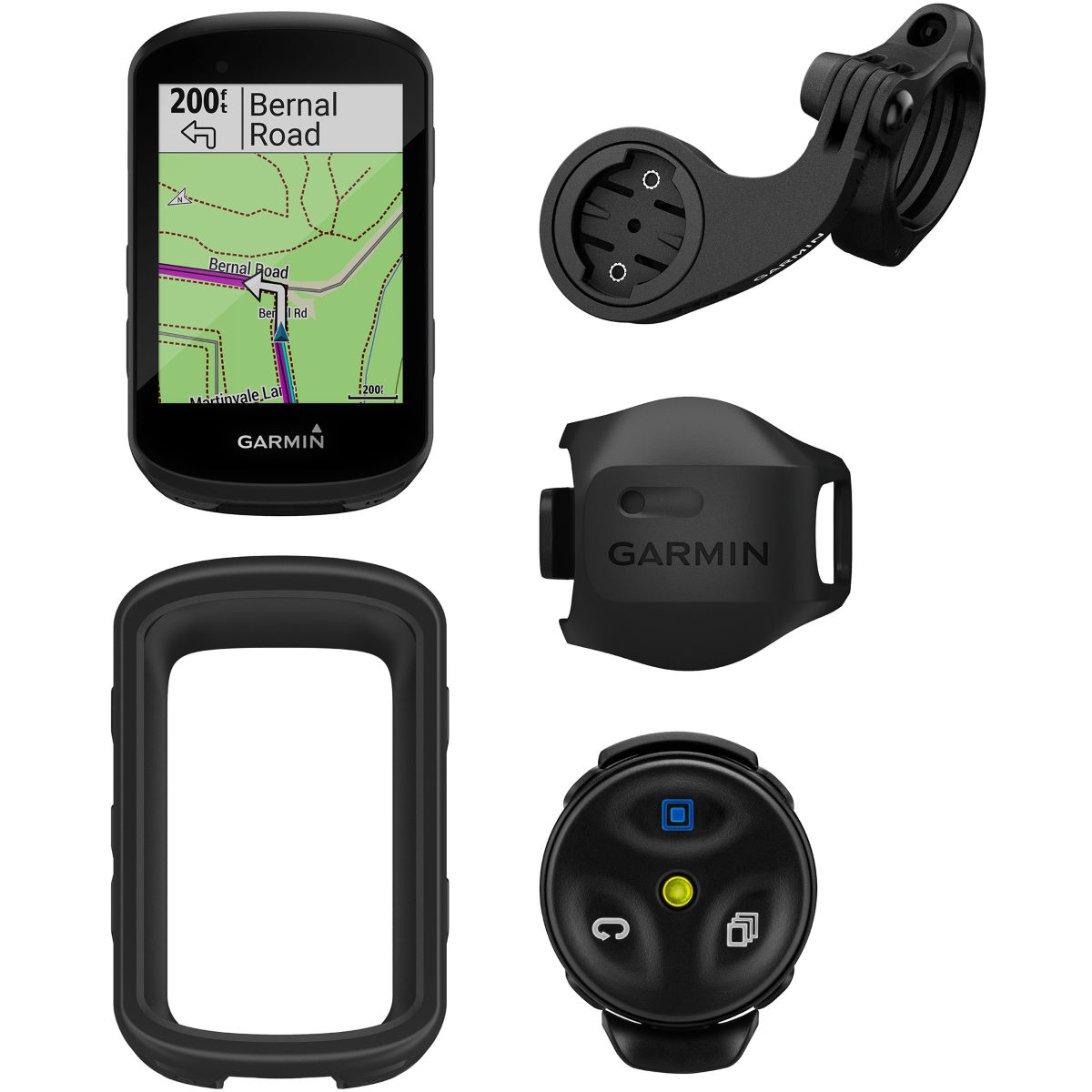 Garmin Garmin Edge 530 Mountain Bike Computer Bundle   Computers