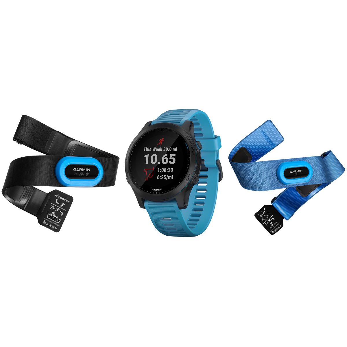 Garmin Garmin Forerunner 945 Tri Bundle   Watches