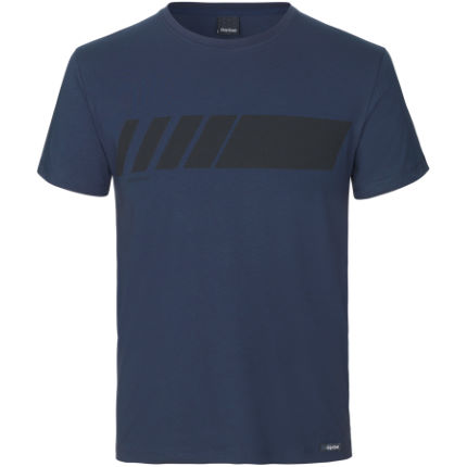 GripGrab Racing Stripe Short Sleeve Organic Cotton T-Shirt