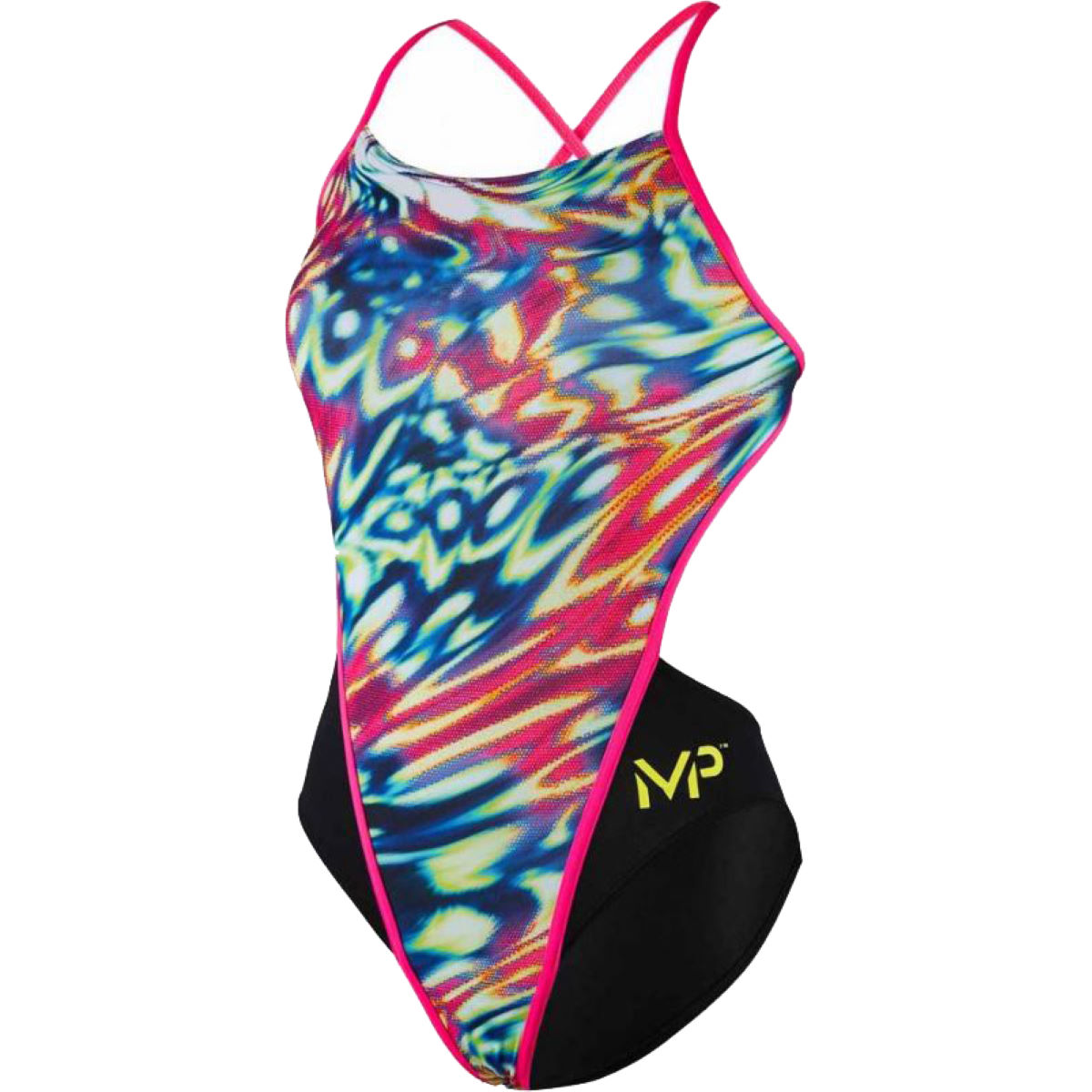 MP MP Wave Open Back Swimsuit   One Piece Swimsuits