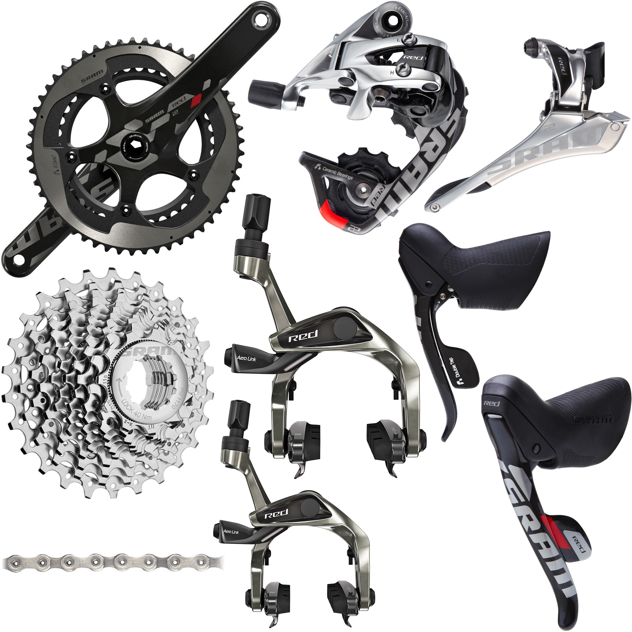 SRAM RED 22 11 Speed Groupset | Groupsets