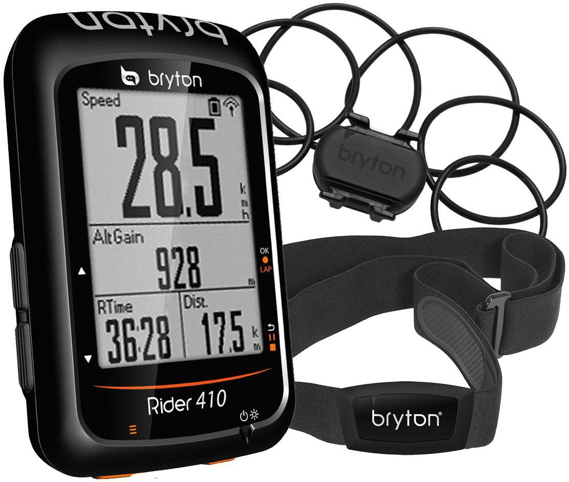 bryton Rider 410 and Cadence and HRM | Cycle computers