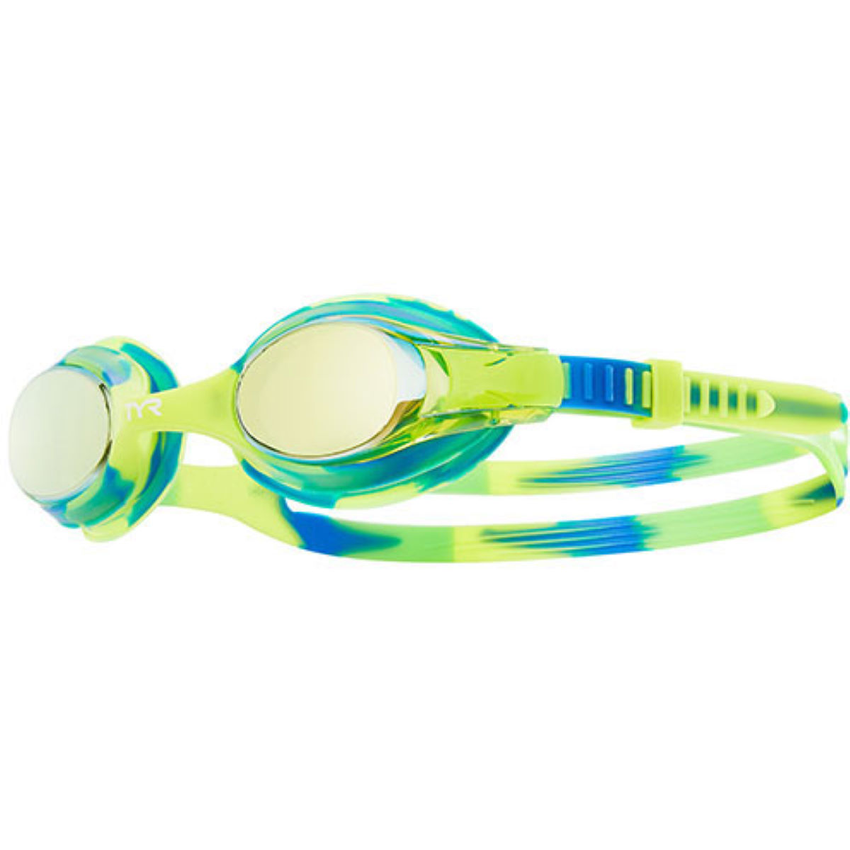 Tyr Kids Swimple Tie Dye Mirrored Goggles - One Size  Goggles
