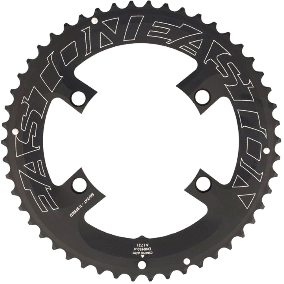Easton 11 Speed Asymetric Chainring - 53t Black  Chain Rings