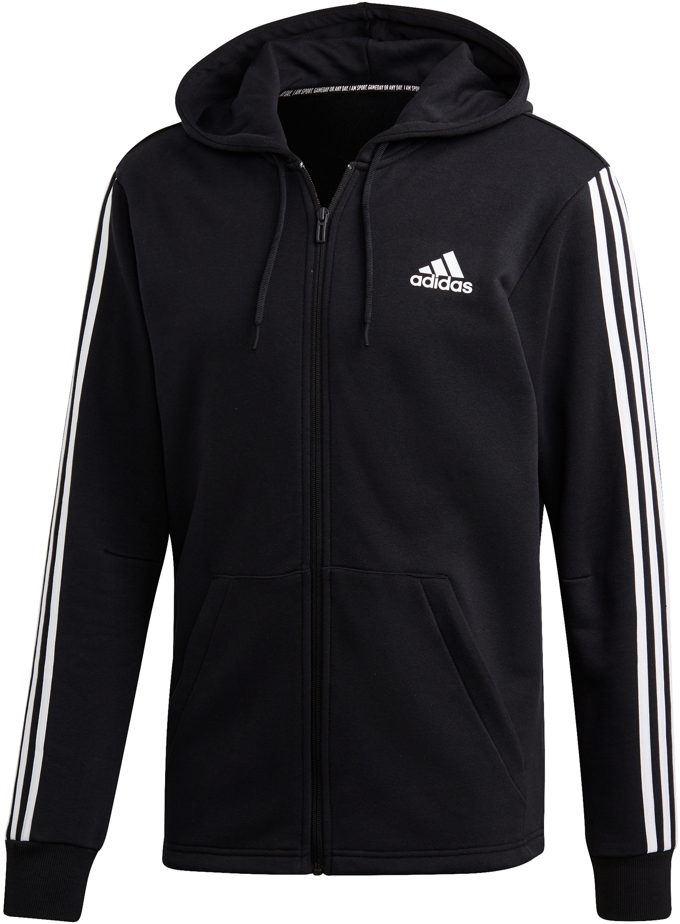 adidas Must Haves 3-Stripes French Terry Hoodie | Jerseys