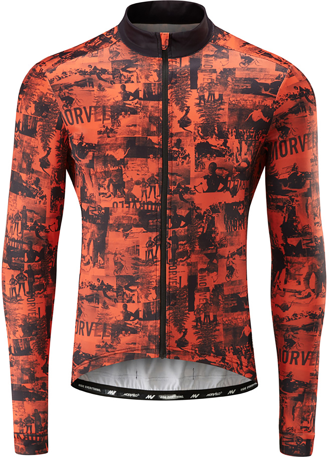 Morvelo Fanzine Thermoactive Long Sleeve Jersey | Trøjer