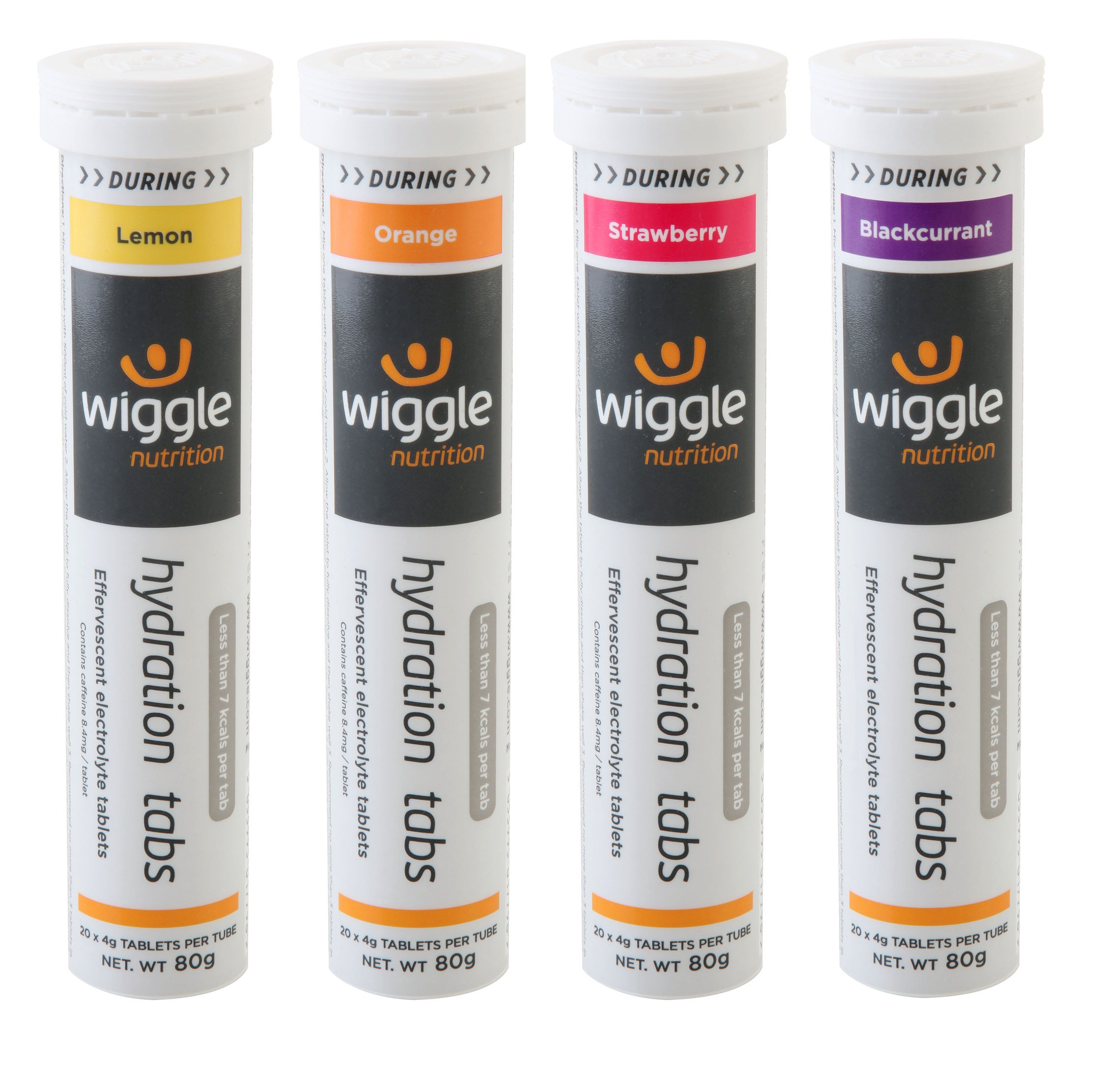 Wiggle Nutrition Hydration Mixed (4 x 20 Tabs) | Tabs
